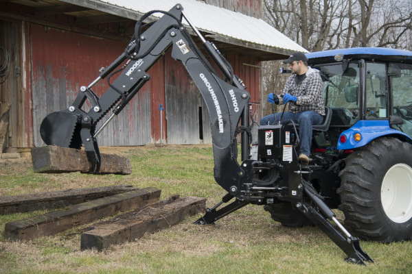 Woods | Backhoes | Model BH85 for sale at Phillips Equipment Corporation, Virginia